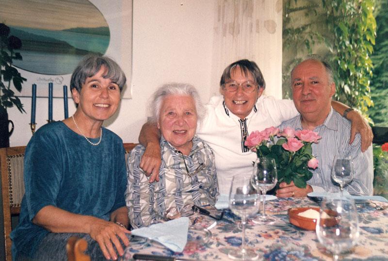 Dorothée, Ida, Verena, and Dietrich