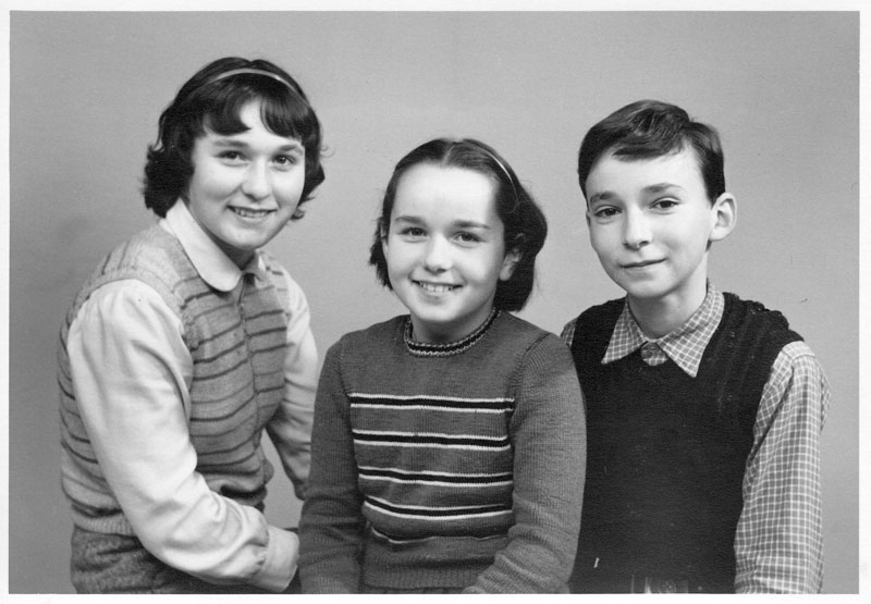 Fischer children 1955